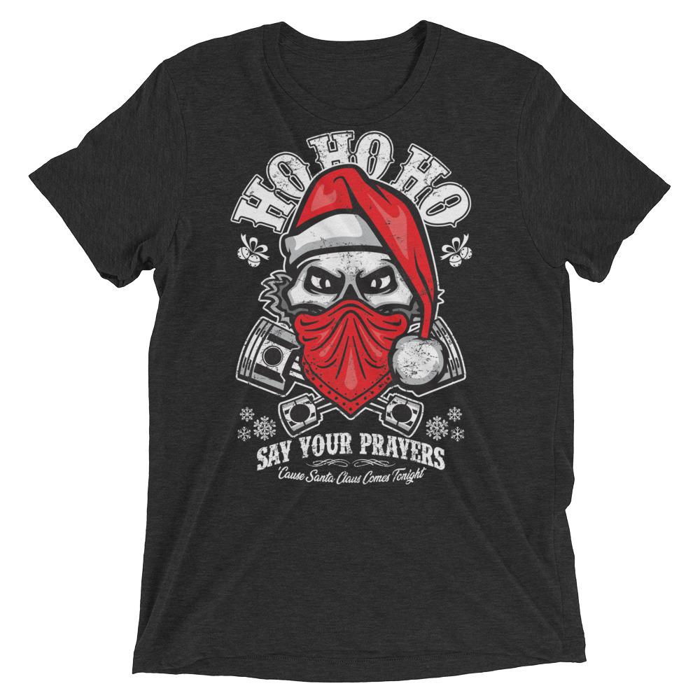 Christmas graphic t-shirt, Holiday T-shirts, Santa shirts