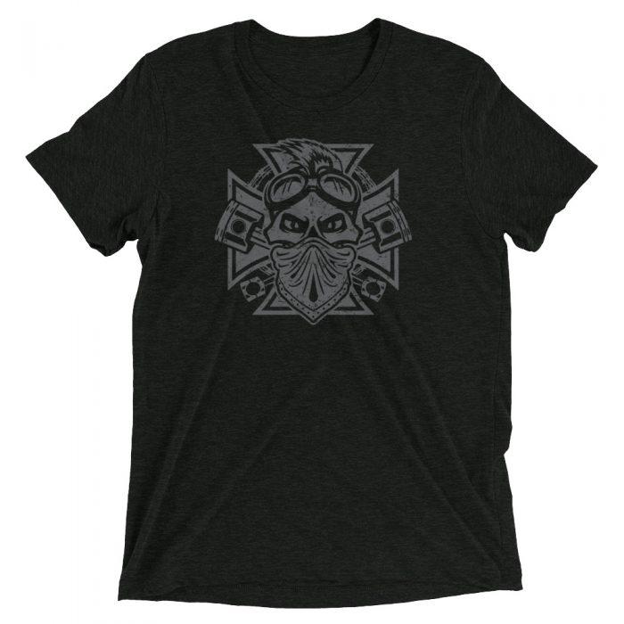 iron cross motorcycle shirt