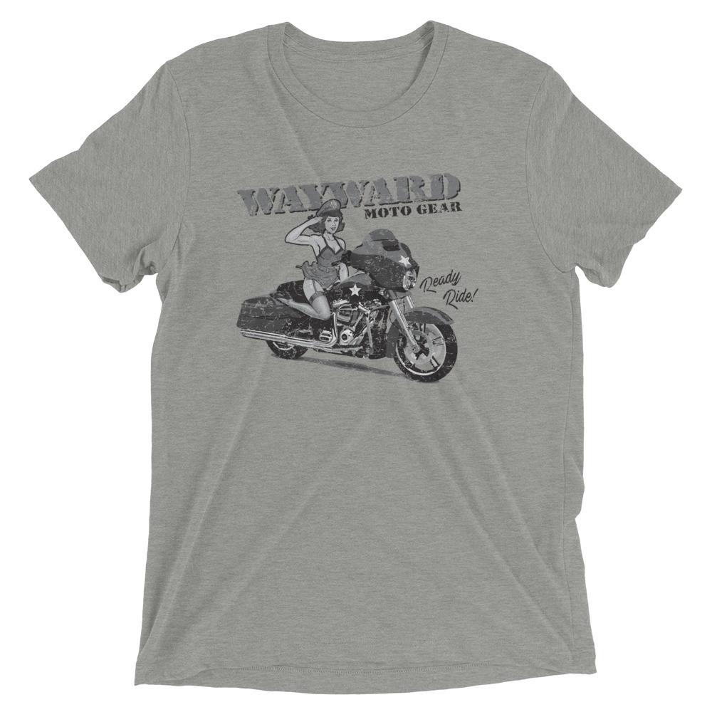 pinup girl motorcycle shirt