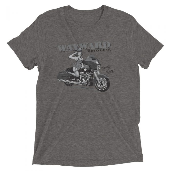 retro motorcycle shirt