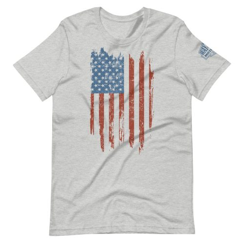 usa flag motorcycle t-shirt
