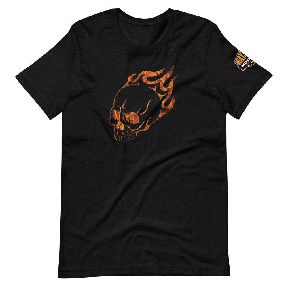 skull motorcycle shirt