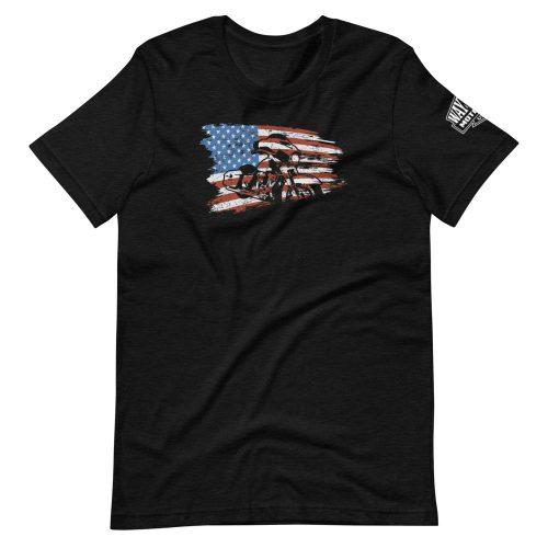 american made cruiser motorcycle t-shirt