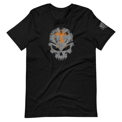 orange cross motorcycle t-shirt