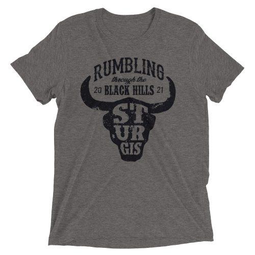 sturgis bison skull t-shirt