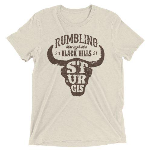 sturgis bison skull shirt